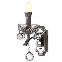 BCL-381W/1 E14 Бра Классическое хрустальное свеча