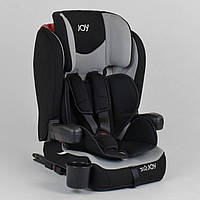 Автокресло универсальное для ребенка JOY 38148 Черный с серым, система ISOFIX, группа 1/2/3, от 9-36 кг