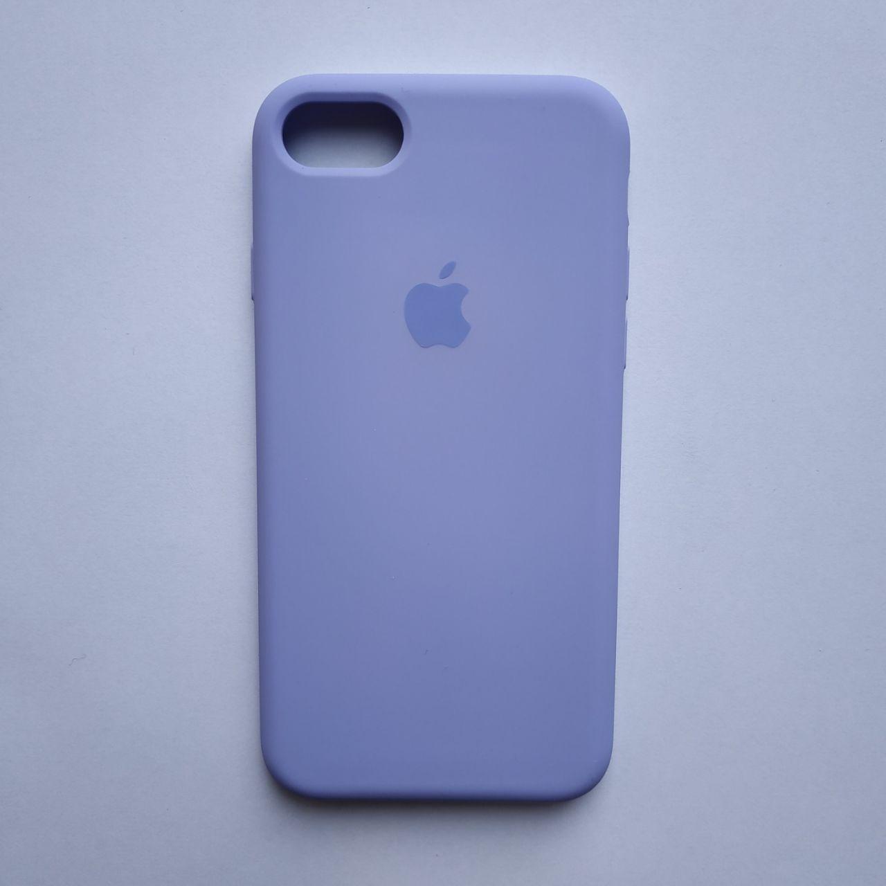 Накладка оригинальная Apple Silicone Case для iPhone 7, 8 Viola