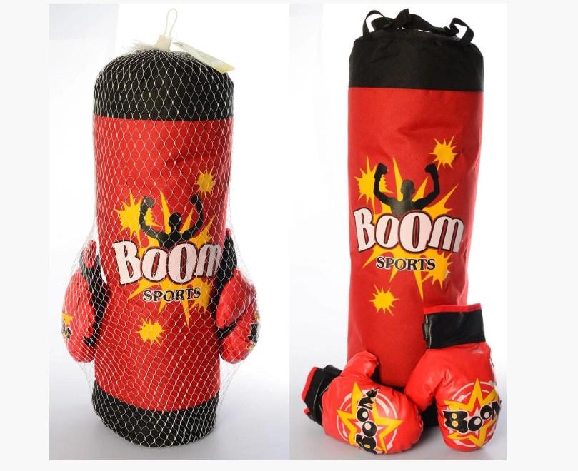 Подвесной боксерский набор MR 0136 с грушей и перчатками