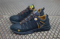 Мужские кожаные кроссовки Merrell (Реплика) (Код: М-4 ч/ж  ) ►Размеры [40,41,42,43,44,45], фото 1