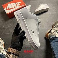 Кроссовки женские Nike Air Force Low ACW White в стиле Найк Аир Форс белые