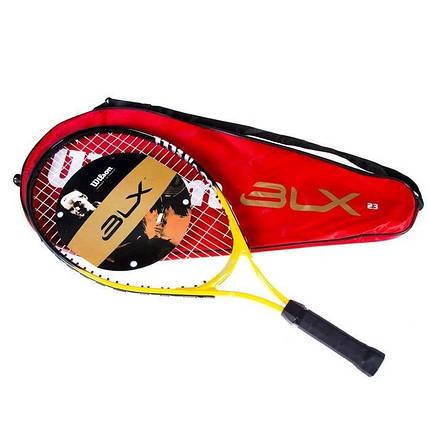Ракетка Wilson W-25BLX для большого тенниса подростковая, фото 2