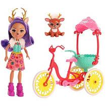 Набор Друзья на велосипеде Данесса Оленни и Спринт Danessa Deer & Sprint Enchantimals
