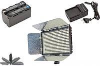 Комплект LED-330C Lite: Накамерный биколорный свет KingMa LED-330C CRI+95 - 1 шт, Аккумулятор NP-F750 - 1 шт, Зарядное - 1 шт