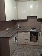 Кухня Хай-Тек (кремовый перламутр глянец)