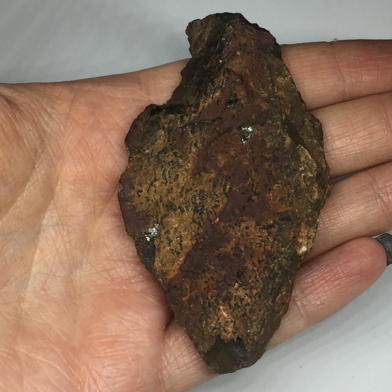 Морион камень 75*42 мм. натуральный морион необработанный