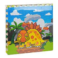 Детский коврик - пазл игровой EVA Динозавры С 36570 60 - 60 см