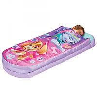 Надувная кровать - спальный мешок Paw Patrol Skye