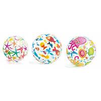 М'яч 59040 (36шт) різнокольоровий, 51см, 3 кольори, в кульку, 24-15,5 см(59040)