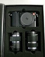 Xiaomi Yi M1 42.5mm f/1.8 / 12-40mm f/3.5-5.6 Black
