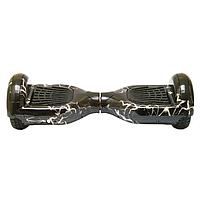"""Гироскутер Smart Balance Wheel 6,5"""" Гироборд чорна блискавка"""