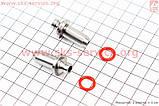Втулка направляющие клапанов к-кт 2шт + манжеты на 4т скутер, фото 2