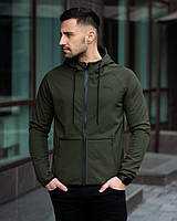 Ветровка мужская Puma Soft Shell х khaki   куртка весенняя / осенняя ЛЮКС качества