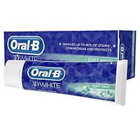 ЗУБНАЯ ПАСТА Oral B 3D White Soft Mint Toothpaste 75ml