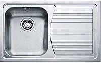 Кухонні мийки Franke Logica line LLX 611-79/ 101.0381.808/сифон/крило/34х40х20/нержав.сталь (101.0381.808)