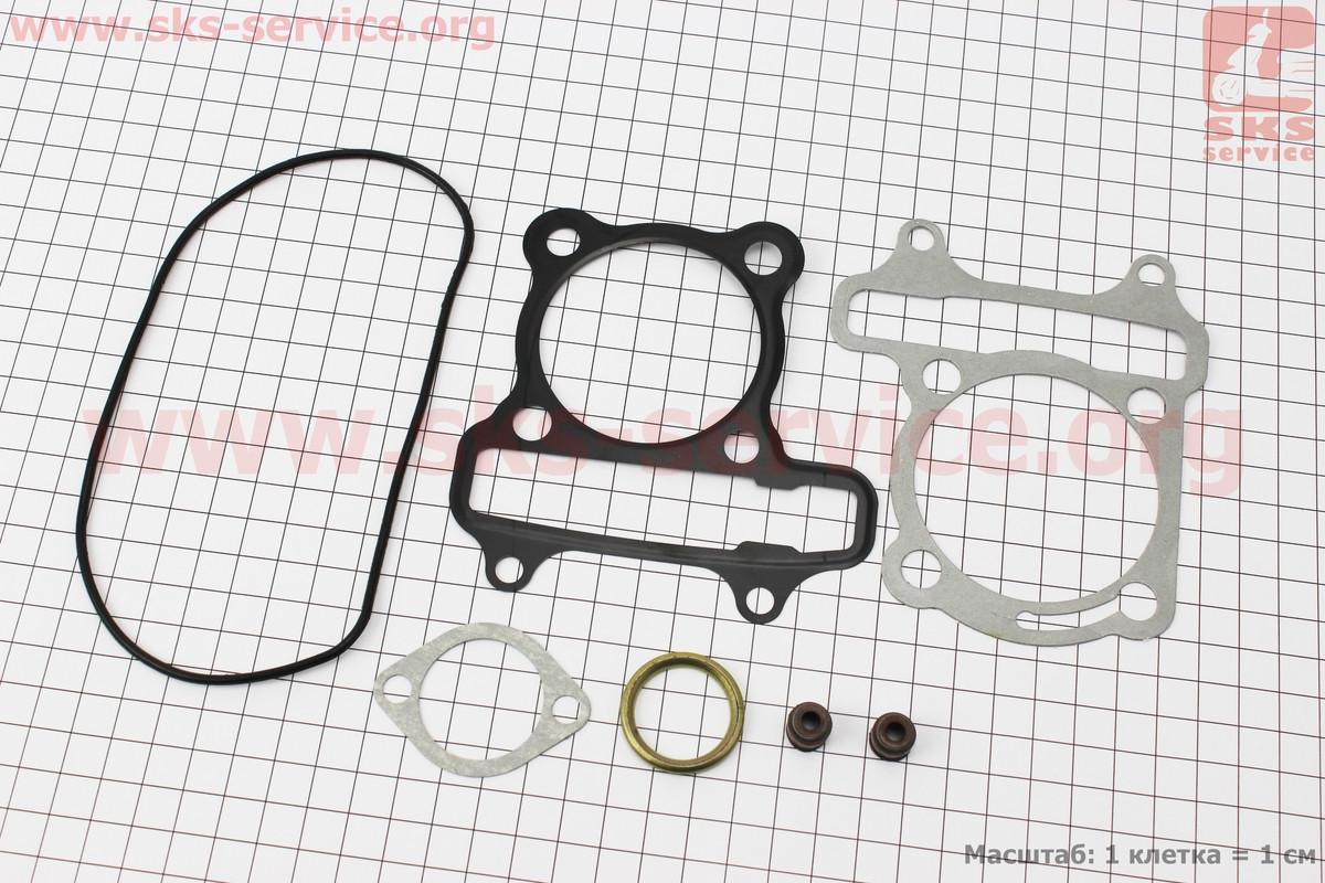 Прокладки поршневой к-кт 150cc (метал) на 4т скутер