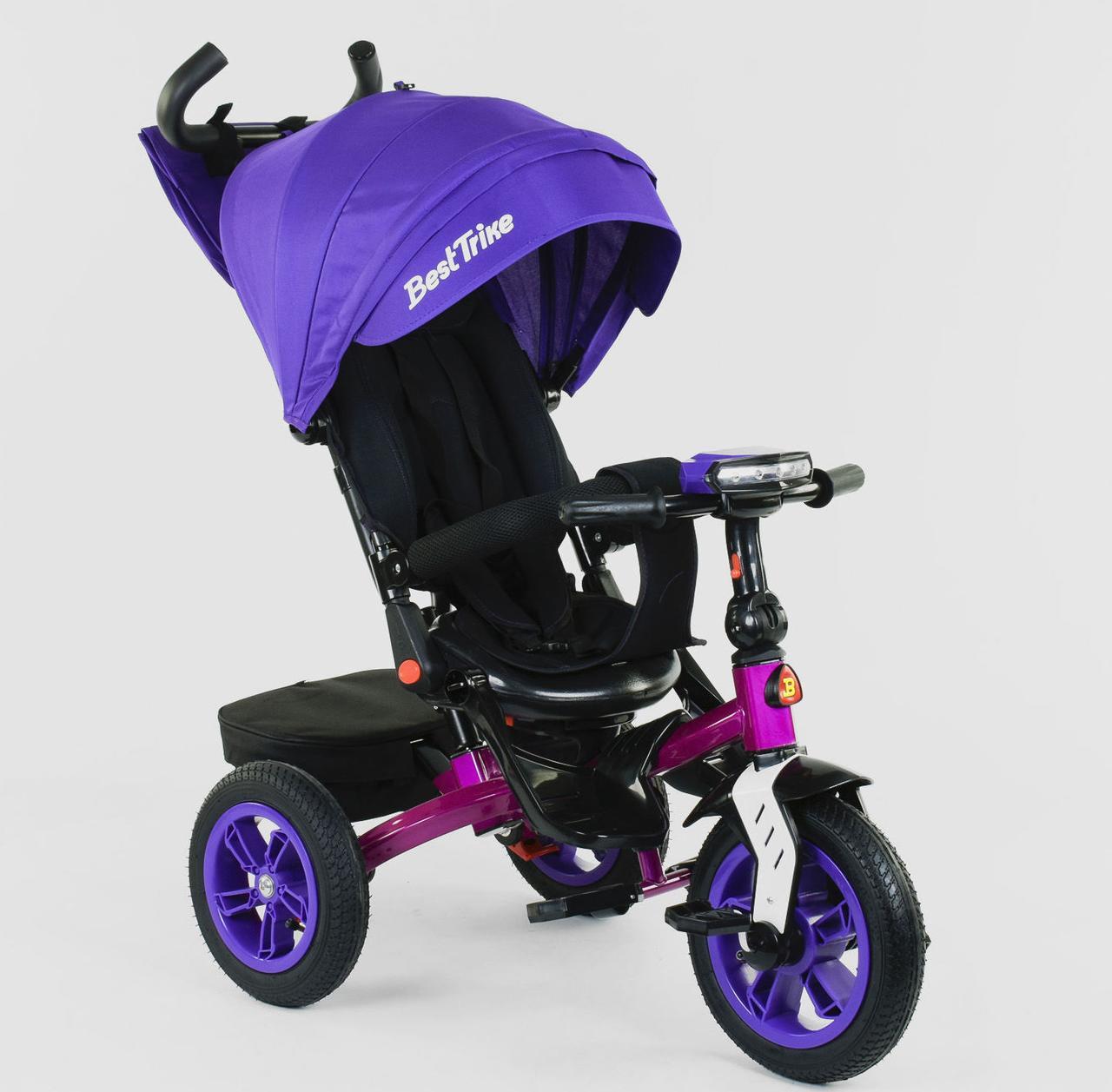 Велосипед детский трехколесный Best Trike 9500 с пультом и поворотным сидением