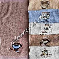 Махровое кухонное полотенце Кофе