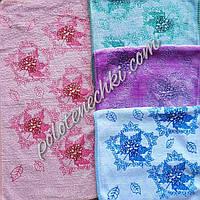 Кухонное полотенце микрофибра Кленовый лист
