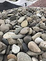 Речная галька Закарпатье (Ассорти) мытая Декоративный камень Ландшафт