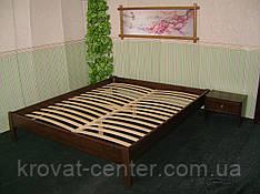 Деревянная полуторная кровать без изголовья от производителя