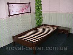 Деревянная полуторная кровать без изголовья от производителя, фото 3