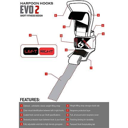 Крюки для тяги и стропы SKOTT EVO2 SF-10002, фото 2