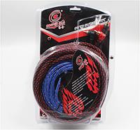 Набор проводов для установки саббуфера KIT BL 361, Комплект проводов для усилителей и сабвуферов в авто! Хит продаж