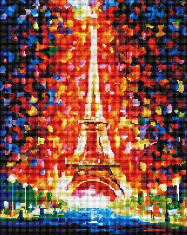 GF-1626 Эйфелева башня. Набор алмазной мозаики (40 х 50)