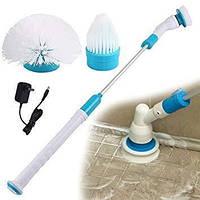Беспроводная электрическая щетка для уборки Hurricane Spin Scrubber с тремя насадками! Хит продаж