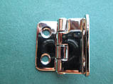 Нержавіюча петля кутова 35х38х2 мм, фото 5