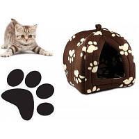 Портативная подвесная мягкая будка для собак и котов Pet Hut, Домик для домашних Пет Хат! Хит продаж