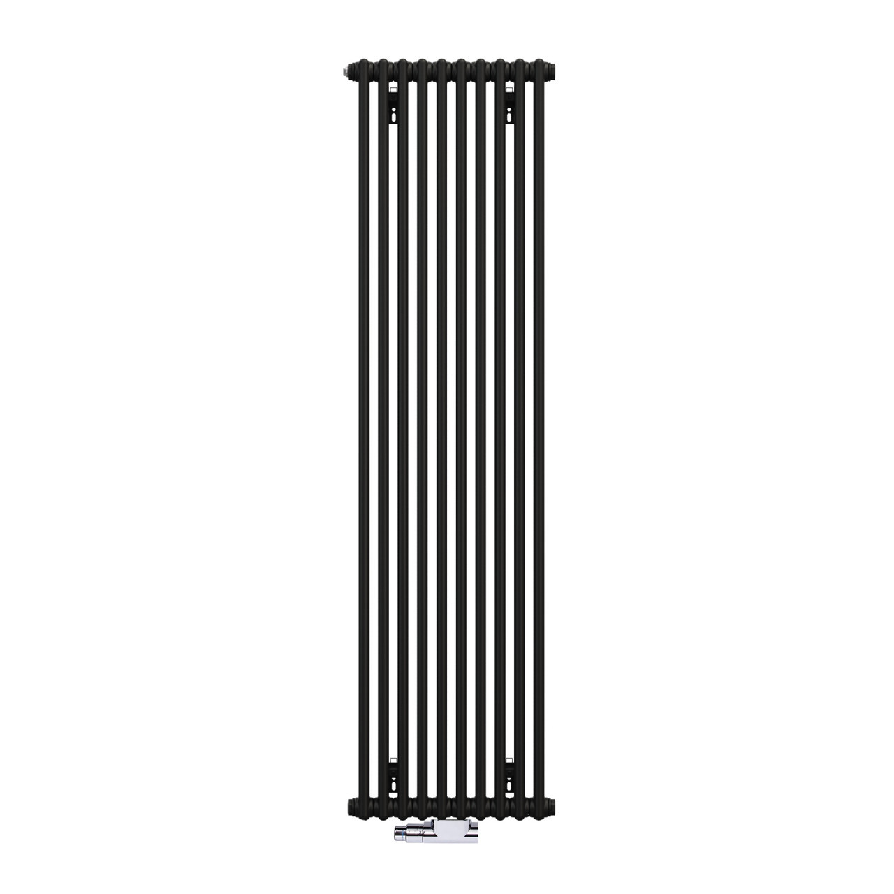 Zehnder Charleston Радиатор центрального отопления 460 x 1792, Traffik black арт.2180-10-9217-3470-SMB