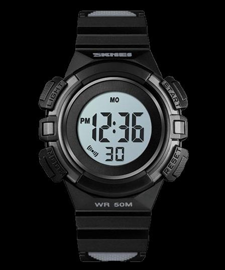 Skmei 1485 черные детские спортивные часы
