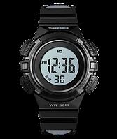 Skmei 1485 черные детские спортивные часы, фото 1