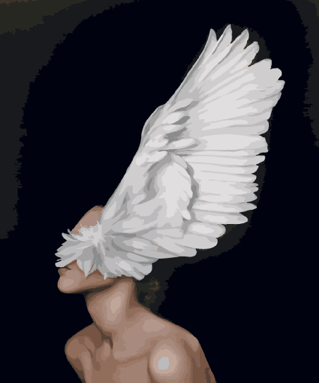 Рисование по номерам Крыло души GX29240 Brushme 40 х 50 см (без коробки)