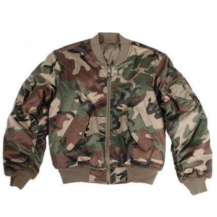 Куртка MA1 - камуфляжна, фото 2