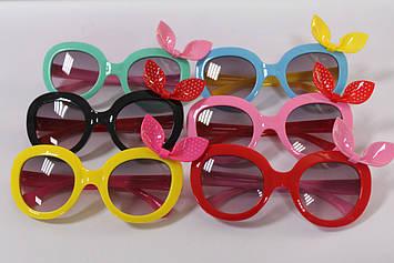 Сонцезахисні окуляри для дівчинки з бантиком 1 шт.