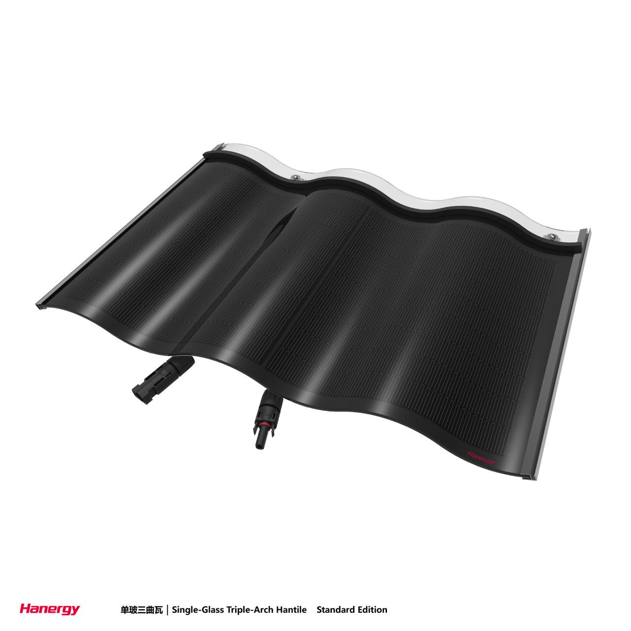 Кровельна сонячна панель Hantile Double Glass 30W