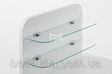 """Маникюрный стол M101 стеклянными полочками под лак """"Эстет  №1"""", фото 2"""