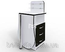 """Маникюрный стол-трансформер M101K """"Эстет компакт №1"""" со складывающейся столешницей, фото 3"""