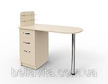 """Маникюрный стол c стеклянными полочками под лак """"Уют"""", фото 3"""