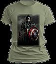 Чоловіча футболка. Капітан Америка, фото 7