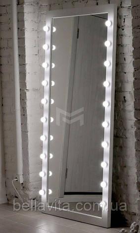 Зеркало LUKAS с подсветкой по боках в полный рост, фото 2