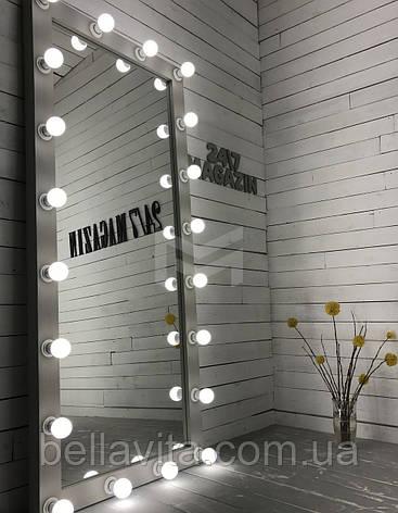 Зеркало CARDEA с подсветкой по кругу в полный рост, фото 2
