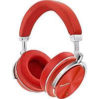 Гарнітура накладна Bluedio T4S Bluetooth 4.2, Red