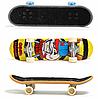 Игровой набор Фингерборд 96 мм пальчиковый скейт с запасными колесами, фото 2