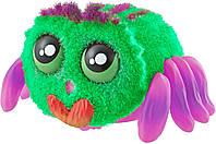🔝 Интерактивный паук Yelies (зеленый+фиолетовый) интерактивная игрушка для детей игрушечный паучок на батарейках   🎁%🚚