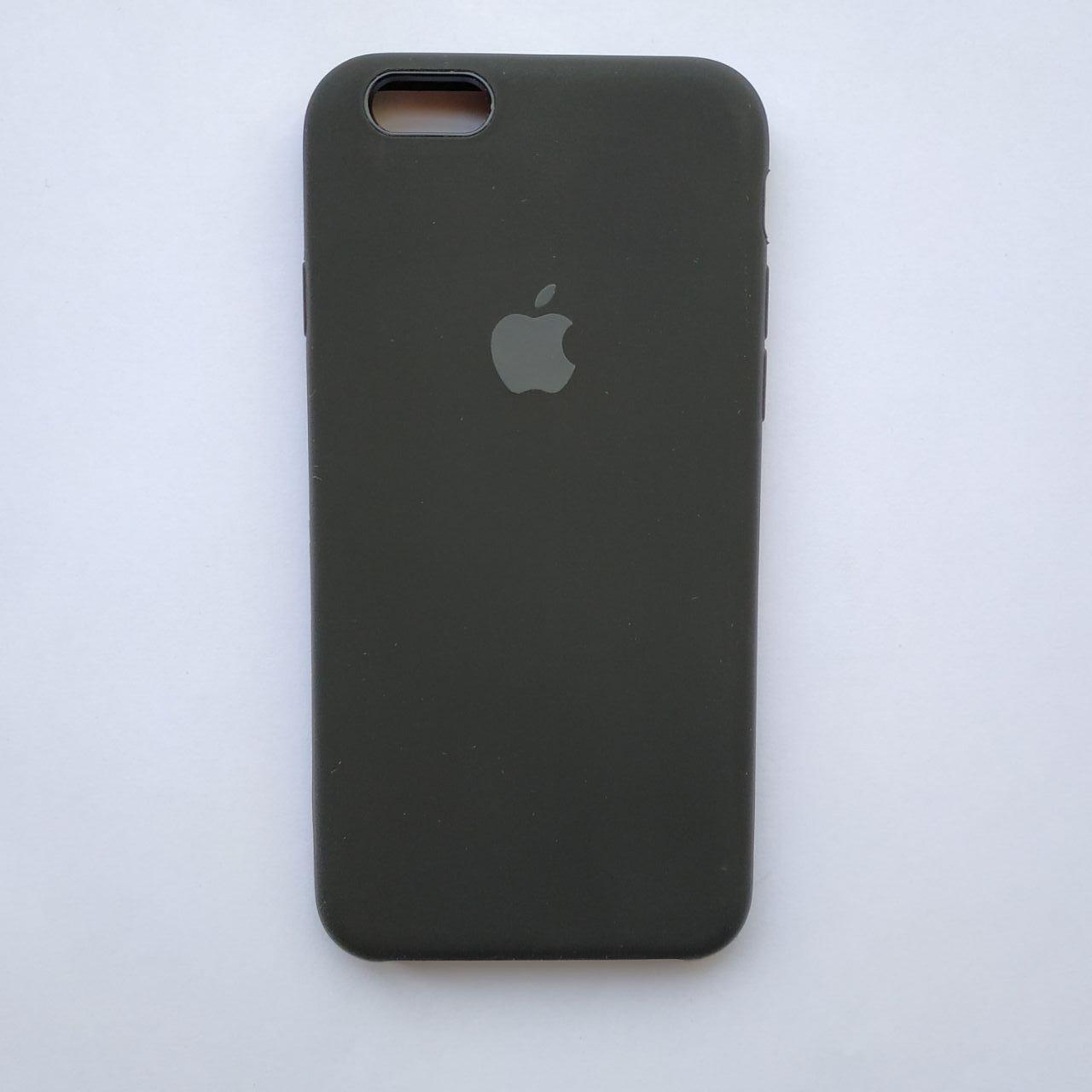 Накладка Silicone Case для Apple iPhone 6 iPhone 6S Black